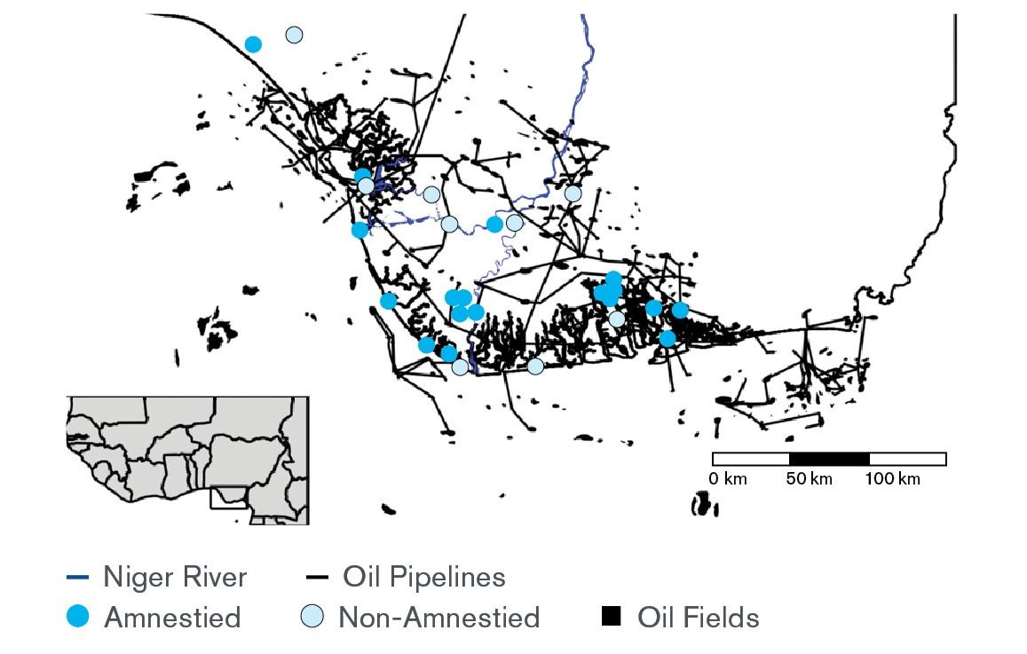 Figure 1: Militant Activity in the Niger Delta
