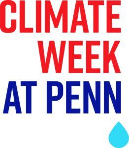 Climate Week at Penn logo
