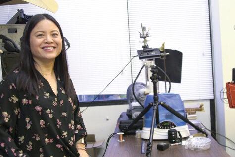 Shu Yang in her office