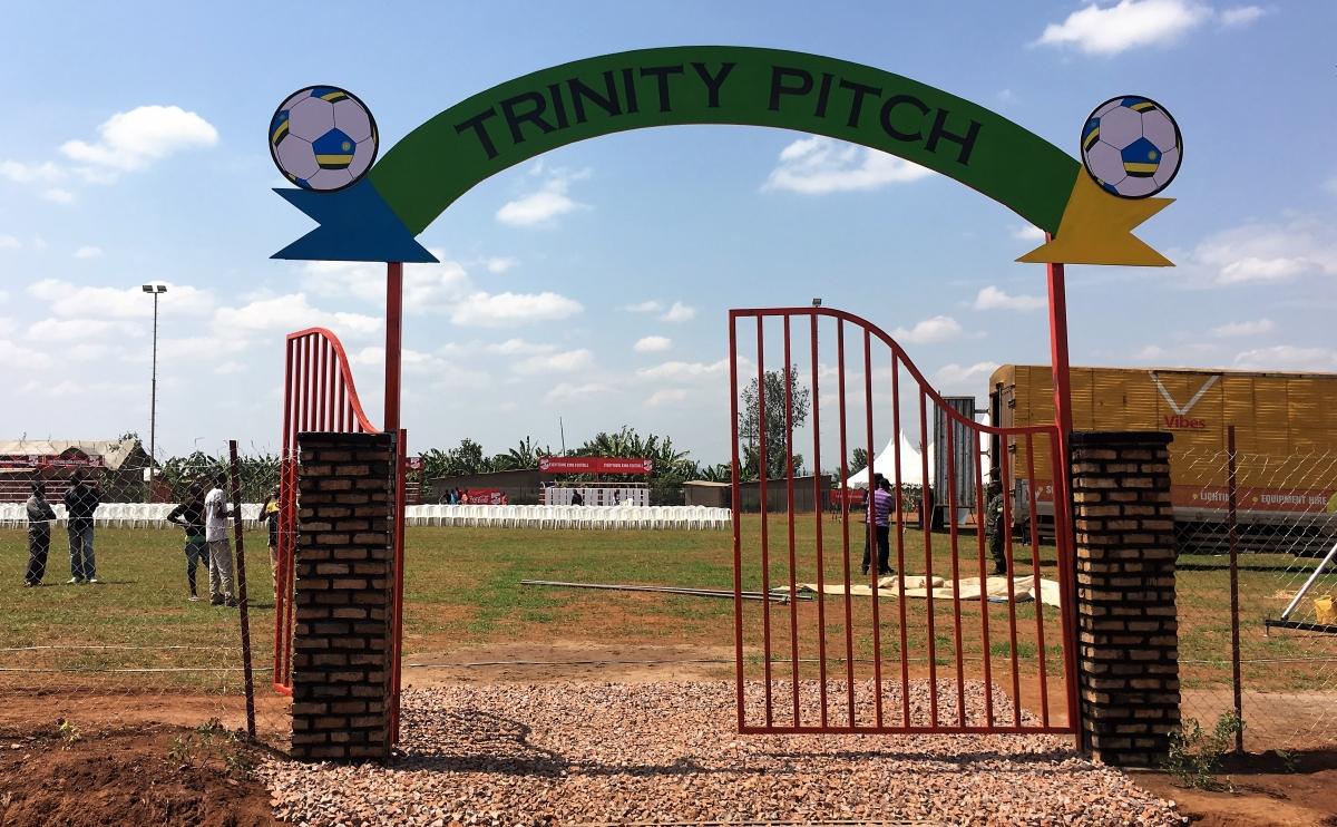Trinity Football Pitch, Ruhunda EKOCENTER, Rwanda