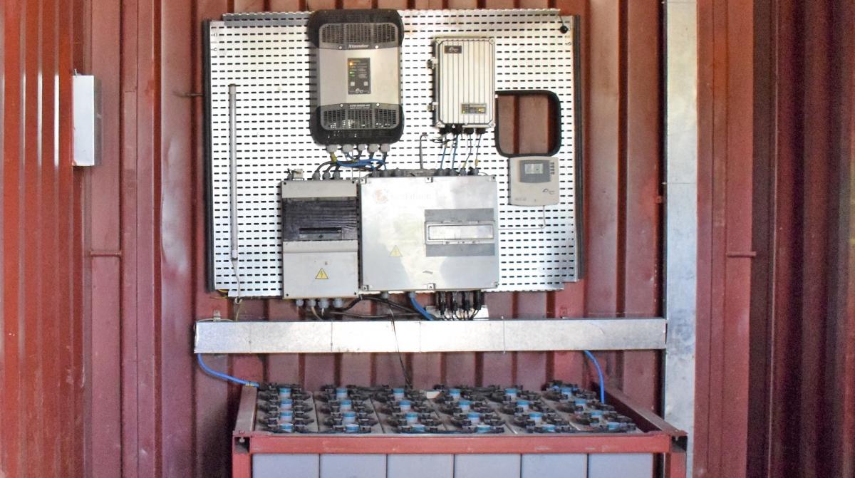 Phillips Solar Generator, Ruhunda Ekocenter, Rwanda.