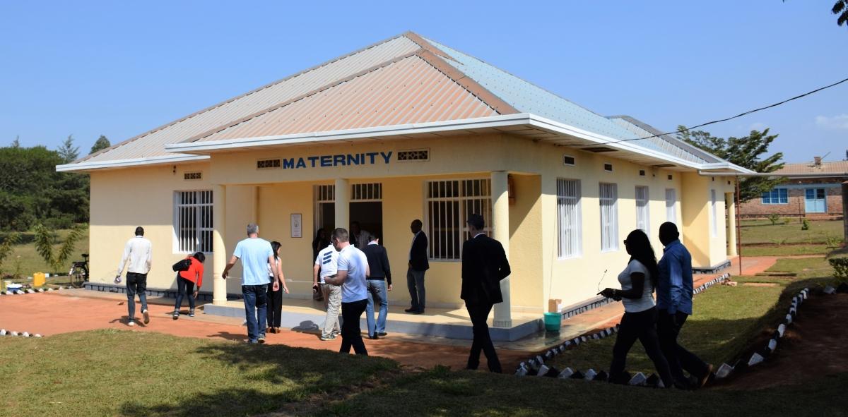 MedShare stocked clinic, Ruhunda EKOCENTER, Rwanda