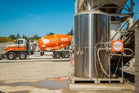 Carbon capture technology at CarbonCure location