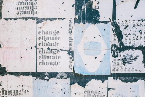 Climate change artwork and posters
